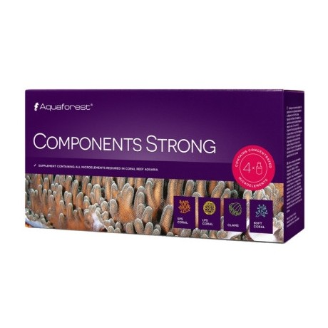 Component Strong 4 x 50 mL Aquaforest